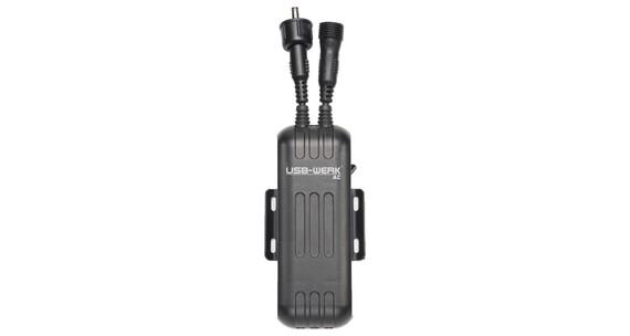 Busch + Müller USB-Werk AC Ladegerät schwarz